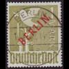Berlin: 1949, Rotaufdruck 1 DM (Prachtstück)