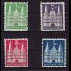 Bizone: 1948, Bauten Markwerte mit flacher Treppe (M€ 175,-)