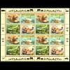 UNO Genf: 2000, Zdr.-Kleinbogen Gefährdete Arten VIII (Tiere)