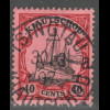 Kiautschou: 1905, Kaiserjacht ohne WZ 40 C. (gepr. Steuer BPP)