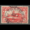 Kiautschou: 1905, Kaiserjacht ohne WZ ½ $. (2. Wahl, gepr. Steuer BPP)