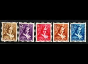 Luxemburg: 1933, Kinderhilfe Heinrich IV. (postfrisch, M€ 150,-)