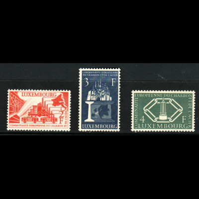 Luxemburg: 1956, Montanunion (Europa-Cept Mitläufer, M€ 70,-)