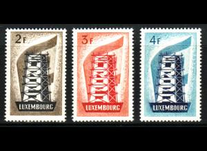 Luxemburg: 1956, Europa-Cept (M€ 240,-)
