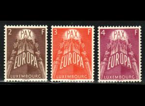 Luxemburg: 1957, Europa-Cept (M€ 150,-)