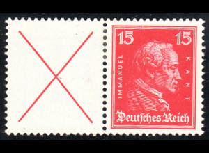 1927, Kant: X + 15 (M€ 150,-)