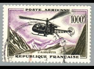 Frankreich: 1958, Hubschrauber 1000 Fr.