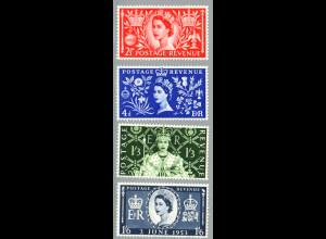 Großbritannien: 1953, Krönung von Königin Elisabeth II.