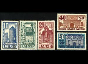 Danzig: 1936, Winterhilfswerk (Bauwerke, M€ 100,-)