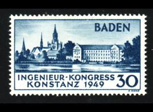 Franz. Zone - Baden: Ingenieur-Kongress Konstanz