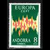 Spanisch-Andorra: 1972, Europa-Cept