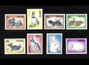 Albanien: 1967, Hasen und Kaninchen