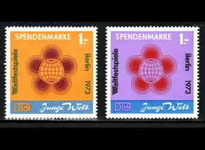 1972, Spendenmarken Weltfestspiele
