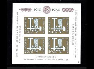 Schweiz: 1960, Blockausgabe Pro Patria