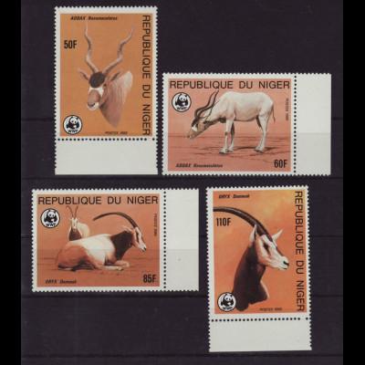 Niger: 1985, Antilope, (WWF-Ausgabe)