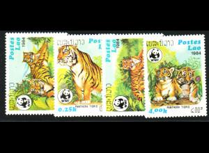 Laos: 1984, Tiger (WWF-Ausgabe)