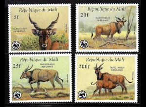 Mali: 1986, Elenantilopen (WWF-Ausgabe)