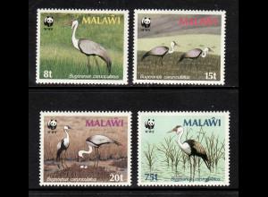 Malawi: 1987, Klunkerkranich (WWF-Ausgabe)
