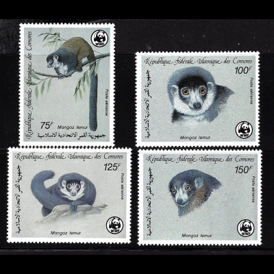 Komoren: 1987, Lemuren (WWF-Ausgabe)