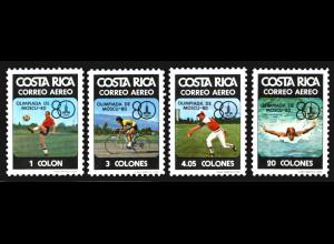 Costa Rica: 1980, Olympische Sommerspiele Moskau