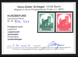 1934, Nürnberger Parteitag (Kurzbefund einwandfrei Schlegel BPP)