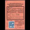 1947, Arbeiter 20 Pfg., Einzelfrankatur (gepr. Schlegel BPP)