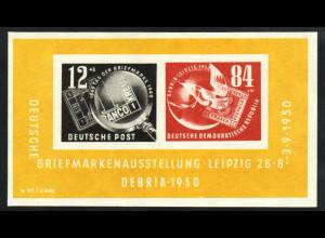 1950, Blockausgabe DEBRIA