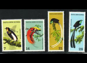 Papua-Neuguinea: 1973, Paradiesvögel
