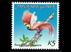Papua-Neuguinea: 1984, Großer Paradiesvogel
