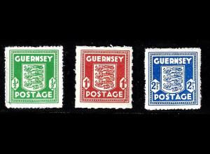 Guernsey 1941, Wappenzeichnung