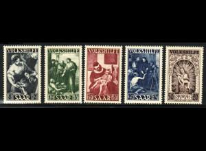 Saarland: 1949, Volkshilfe Gemälde (I) (M€ 110,-)