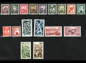 Saarland: 1949, Freimarken (M€130,-)