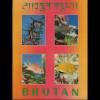 Bhutan: 1969, Blockausgabe Fische (3D-Folie)