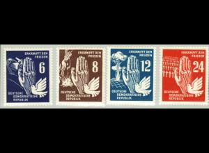 1950, Frieden