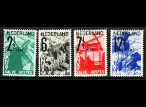 Niederlande: 1925, Königin Wilhelmina 6 C. Rollenzähnung (für ** M€ 220,-)