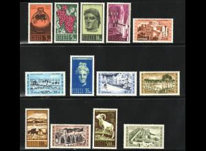 Zypern: 1962, Freimarken Fremdenverkehr (M€ 110,-)
