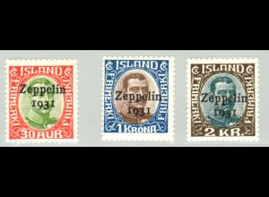 """Island: 1931, Luftschiff """"Graf Zeppelin"""""""