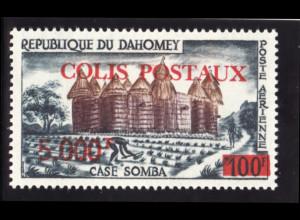 Dahomey - Portomarke: 1969, Schloss Somba
