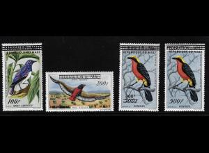 Mali: 1960, Überdruckausgabe Vögel