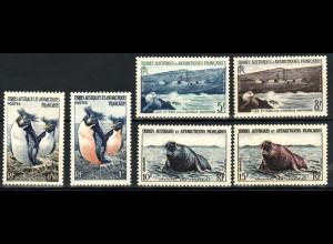 TAAF: 1956, Freimarken (M€ 40,-)