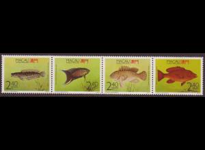 Macau: 1990, Zdr.-Streifen Fische