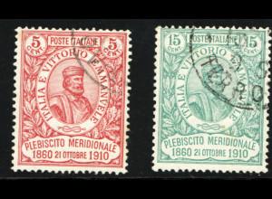 Italien: 1910, Garibaldi (M€ 280,-)