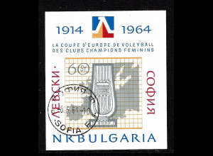 Bulgarien: 1964, Blockausgabe Volleyball