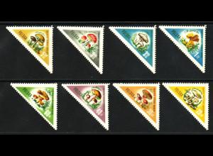 Polen: 1959, Dreiecksmarken Pilze