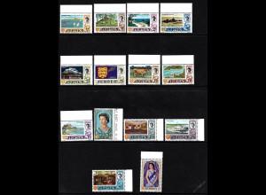 Jersey: 1969, Freimarken in alter Währung