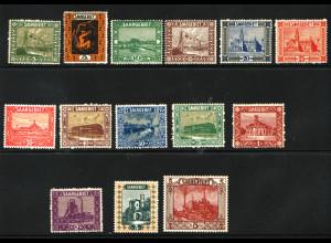 1922, Landschaftsbilder (III) (Erstfalz, M€ 110,-)
