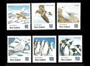 Neuseeland: 1990, Vögel der Antarktis