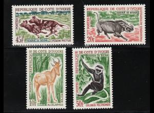 Elfenbeinküste: 1963, Tiere