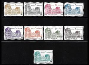 Belgien: 1971, Postpaketmarken: Bahnhof Ostende