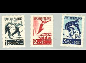 Finnland: 1938, Skiwettkämpfe in Lahti